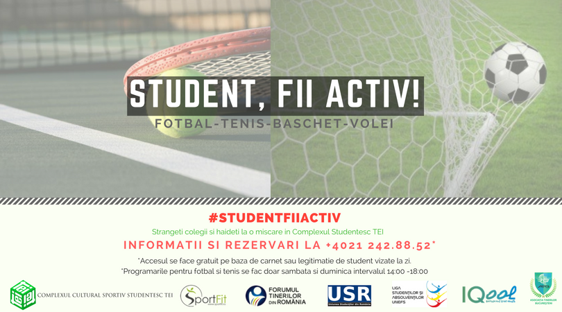 Student, fii activ-5